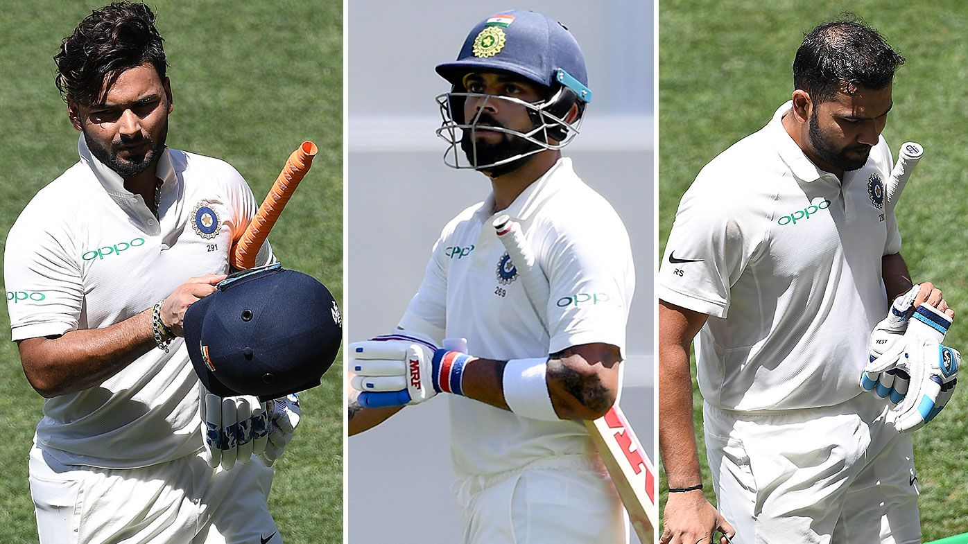 'Village cricketers would be ashamed of that': Loose Indian strokeplay slammed on first day