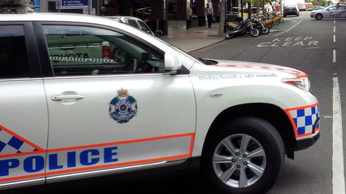 Stock image of Queensland police car.