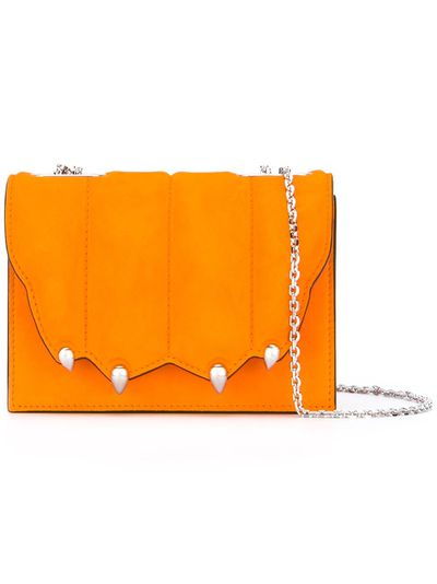 "Cross-body bag , $2,123 Marco de Vincenzo at <a href=""https://www.farfetch.com/au/shopping/women/marco-de-vincenzo-paw-effect-cross-body-bag-item-11668308.aspx?storeid=9446&amp;from=listing&amp;rnkdmnly=1&amp;ffref=lp_pic_2_2_"" target=""_blank"">Farfetch</a><br />"