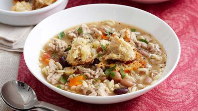 Friday: Chicken thyme soup