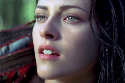 Check out these hot new pics of Kristen Stewart, Chris Hemsworth and Charlize Theron in Snow White and the Huntsman, out June 21. Watch the trailer and a behind-the-scenes video on slides 11 and 12.