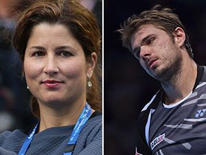 Video emerges of Mirka Federer's on-court spat with husband's rival