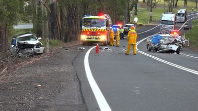 Both drivers in horror smash killed as four die on NSW roads