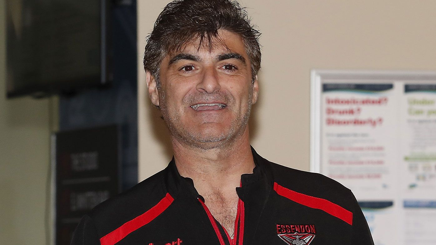Essendon list boss Adrian Dodoro lifts lid on pre-draft whiteboard 'gaffe'