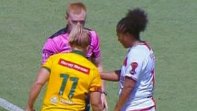 Aussie accused of biting opponent during World Cup win