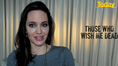 Angelina Jolie said she has huge respect for young Aussie actor Finn Little.