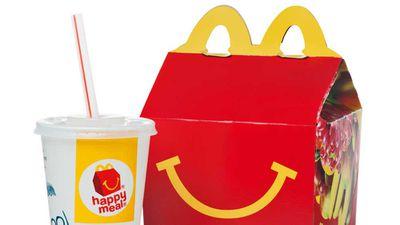 McDonald's launch healthier options in happy meal
