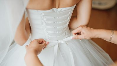'What can I wear under my wedding dress?'