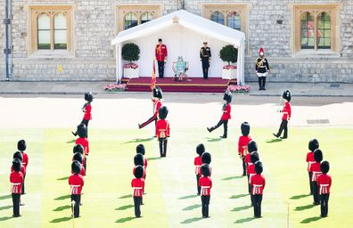 Trooping the Colour in 2020 was also scaled back due to the pandemic.