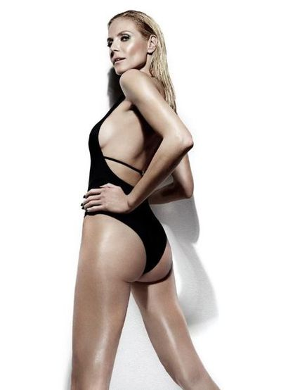 "There are some things for girls who want to show more skin, some girls who don't want to show a lot of skin, so I have a lot of different bottoms and tops,"" explains Heidi of her <a href=""http://www.bendonlingerie.com.au/brands/heidi-klum-swim"" target=""_blank"">collection</a>."