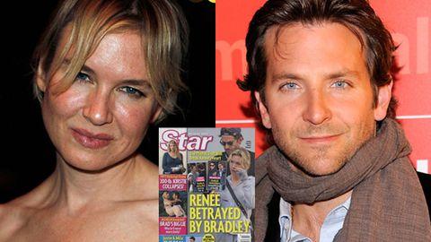 Renee Zellweger and Bradley Cooper
