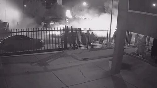 Police are reviewing video footage of the meet-ups.