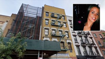 New York rooftop fall Cameron Perrelli.
