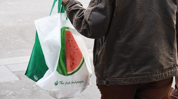 Thicker plastic bags could be banned from Victorian shops in the future.