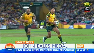 Israel Folau refuses to rule out code switch