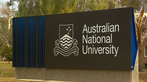 """An ANU spokesperson said that the university was """"working to contain a threat"""" to its IT systems. Picture: 9NEWS"""