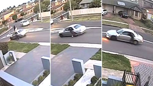 Police are appealing for witnesses after the incident in Casula.