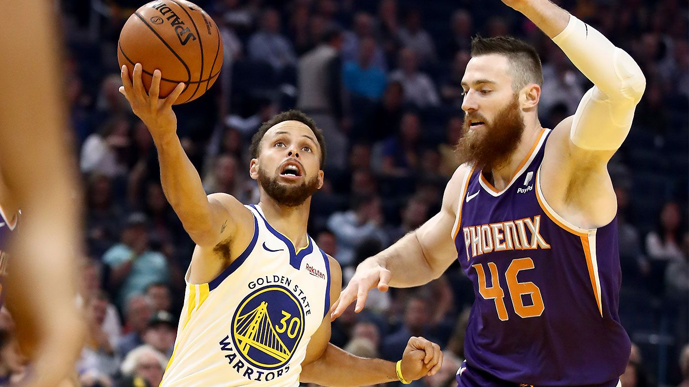 Stephen Curry Aron Baynes