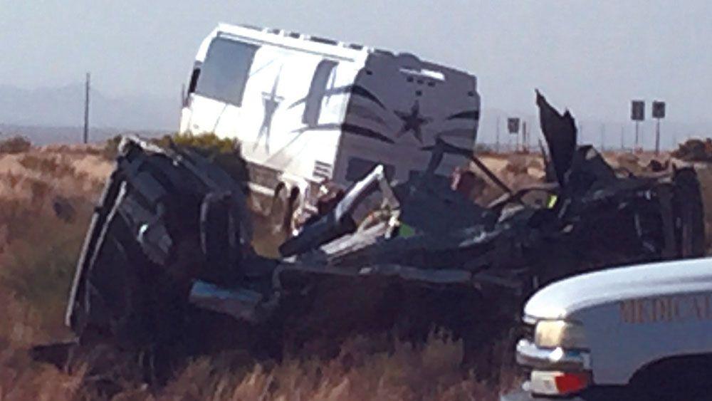 Cowboys NFL staff bus crash, four die