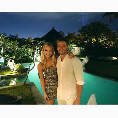 <em>The Bachelor</em>'s Anna Heinrich and Tim Robards went to Bali with friends for her 30th birthday