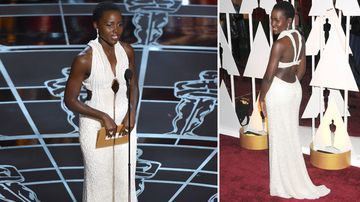 The actress wore the dress to last Sunday's Oscars ceremony. (AAP)