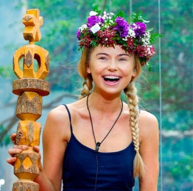Reality star Georgia 'Toff' Toffolo wins I'm a Celebrity