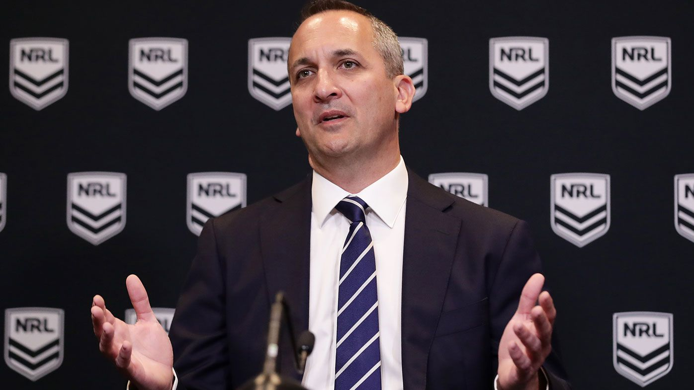 NRL's new CEO Andrew Abdo warns of more cuts to stay afloat amid pandemic
