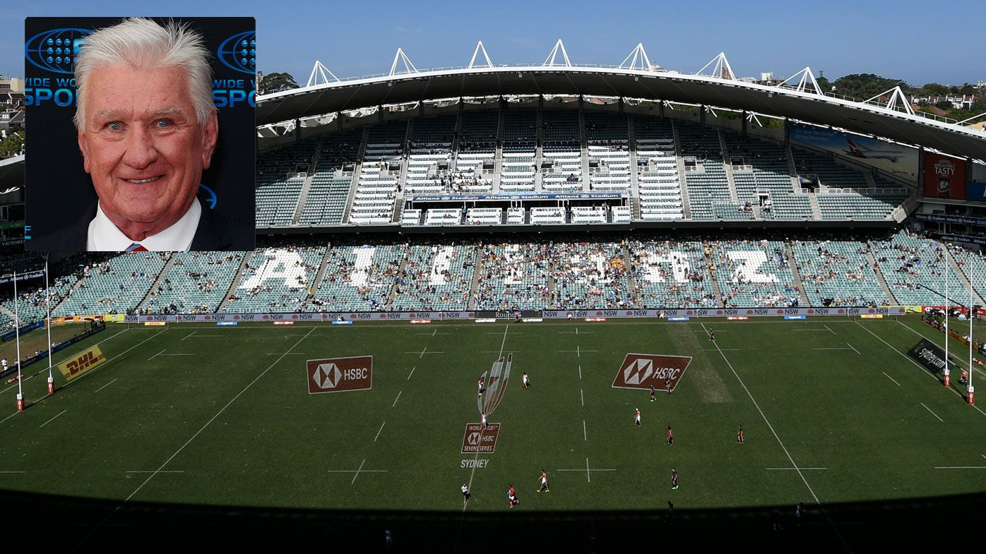 Ray Warren isn't shedding any tears over the demise of Allianz Stadium