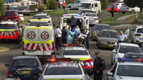 Sergeant Michael McClafferty, Senior Constable Peter Heginbotham and Senior Constable Victor Suarez all responded to the call.
