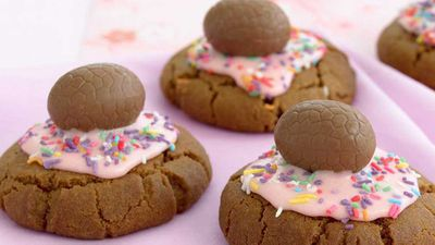 Easter-egg cookies