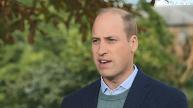 Prince William talks about the Earthshot Prize to ITV News
