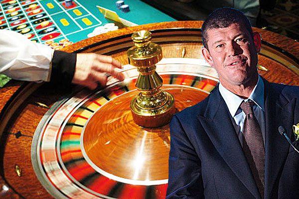 James Packer, roulette wheel