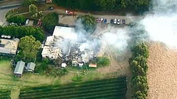 Popular winery ravaged by fire