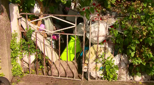 The hoarder house located on a residential Bondi street will go under the hammer in November if the Bobolas family don't pay clean-up fees.