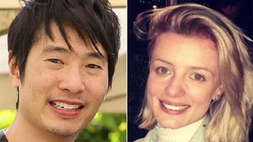 Victims Matthew Si and Jess Mudie. (Supplied)