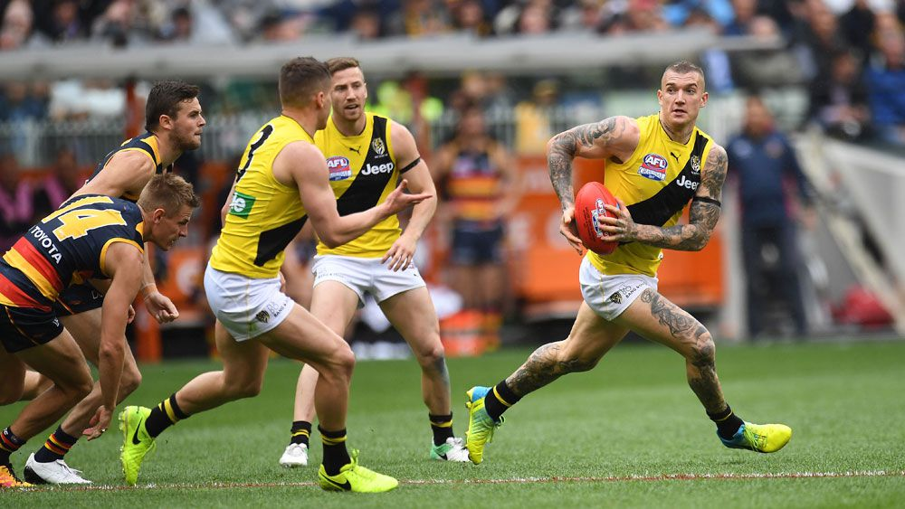 AFL grand final day 2017: Live coverage, Richmond Tigers vs Adelaide Crows, start time, teams, news, video