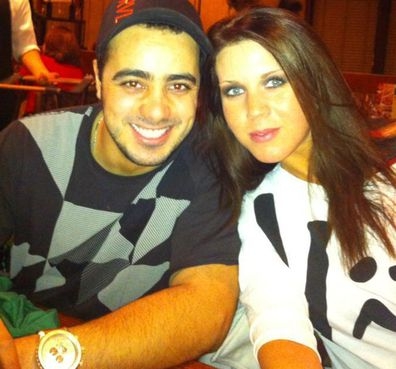 Samantha Sally Elhassani and husband Moussa Elhassani in a Facebook picture,