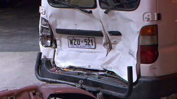 Truckie stripped of licence after multi-car freeway crash