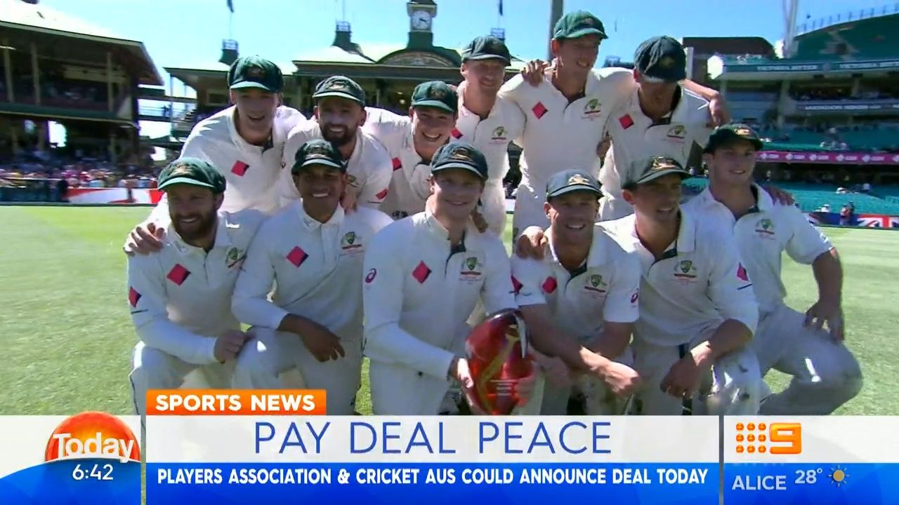 Cricket peace deal close to resolution