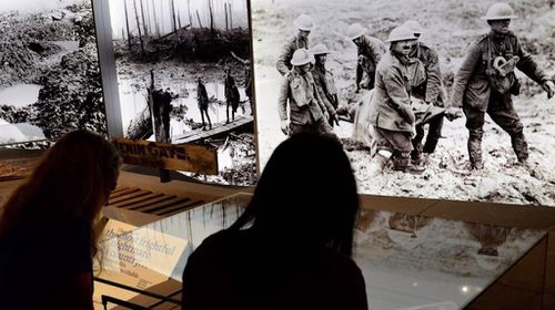 The WW1 Centenary Exhibition will feature physical as well as audiovisual displays. (IWM)