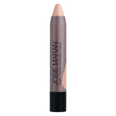 "<p><a href=""https://www.mecca.com.au/josie-maran-cosmetics/argan-concealer-crayon/V-019507.html?cgpath=makeup-complexion-concealer#start=1"" target=""_blank"">Josie Maran Cosmetics Argain Concealer Crayon in Light 1, $28</a></p>"