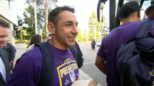 Billy Slater reckons he will play on next year.