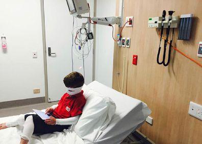 Ryder in hospital