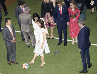 Princess Mary ends South Korea tour