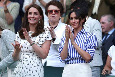 Meghan Markle & Kate Middleton Wimbledon 2018