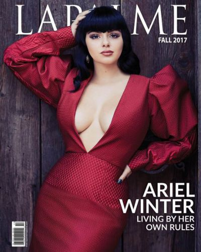 Ariel Winter hit the cover of Lapalme magazine and debuted new, blunt bangs.