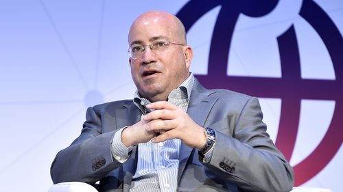 CNN Worldwide President Jeff Zucker speaks during a conference in Spain in February 2018. (CrowdSpark)