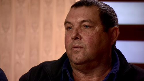 Neil Powell says he is in a stand-off with a man who refuses to move off his land.