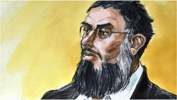Zahab has pleaded guilty to sending drawings and instructions to IS supporters overseas.