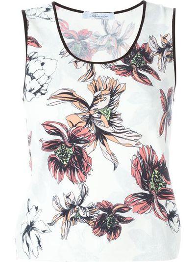 "<a href=""http://www.farfetch.com/au/shopping/women/blumarine-floral-print-tank-top-item-11339060.aspx?storeid=9488&from=1&ffref=lp_pic_33_3_"" target=""_blank"">Tank, $524, Blumarine at farfetch.com</a>"